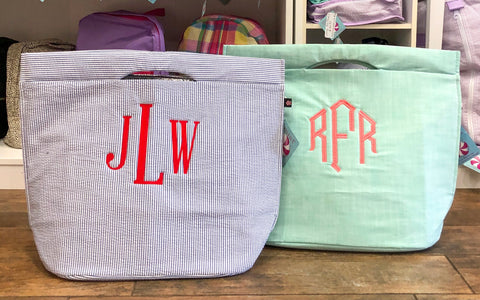 Cooler Large Tote free monogramming