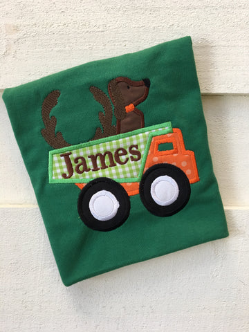 Hunting Dog Dump Truck Design