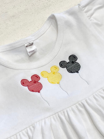 Mickey Minnie Balloon Sketch Collection