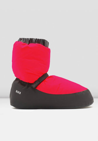 Warm Up Booties Hot Pink