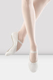 Youth/Ladies White Dansoft Leather Ballet Shoes by BLOCH