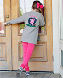Girls Tutus and Touchdowns Southern Tee by RB
