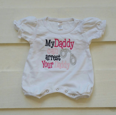 My Daddy Romper
