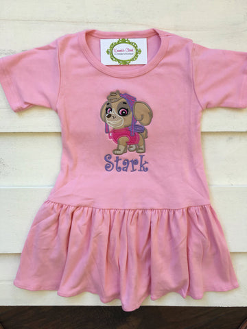 Skye Paw Patrol Dress