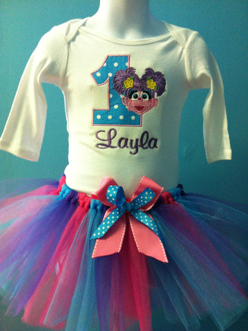 Abby Cadabby Birthday TuTu Set