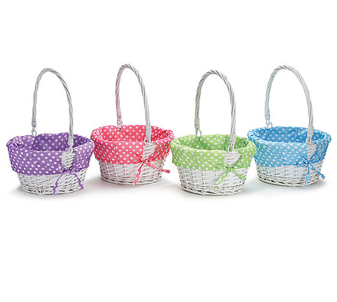 Easter Basket Polka Dots