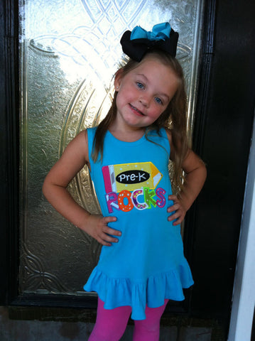 PreK Rocks Dress