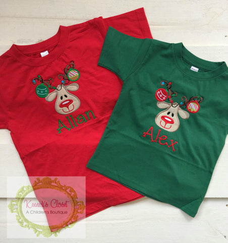 Reindeer Ornament Shirt