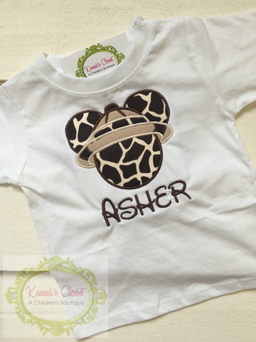 Mickey Safari Shirt