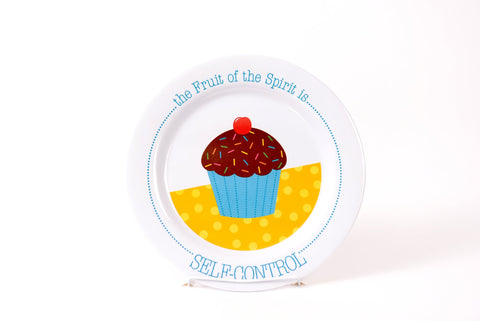 Self Control Plate by Fruit Full Kids