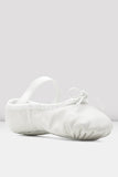Girls White Dansoft Leather Ballet Shoes by BLOCH