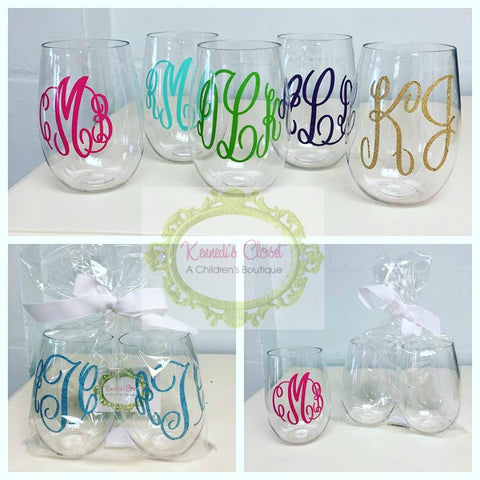 Wine Glass Personalized Gift Set