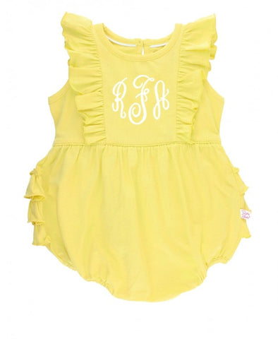Lemon Waterfall Ruffle Bubble