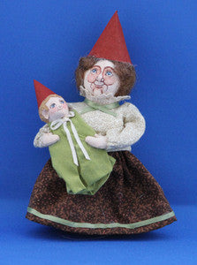 Gnome w/ Baby