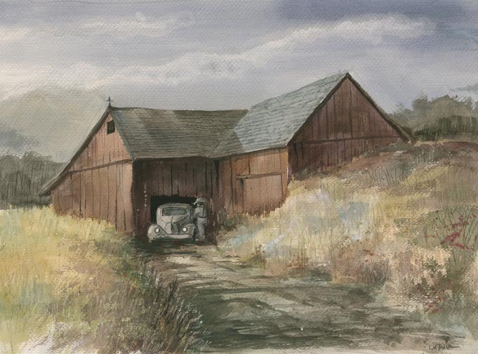 Barn and Roadster