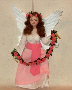 Angel with Rose Garland