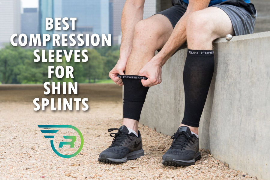09bfd97b76 Best Compression Sleeves for Shin Splints - Run Forever Sports