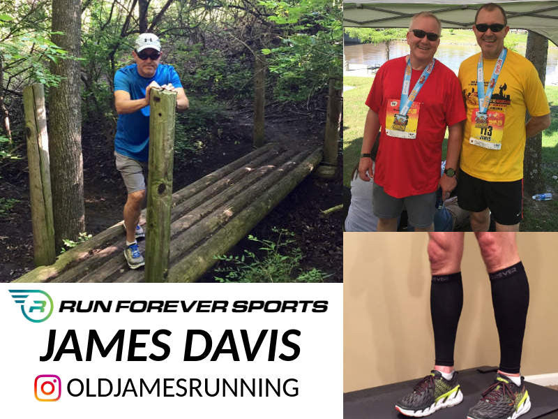 Run Forever Sports Ambassador: James Davis