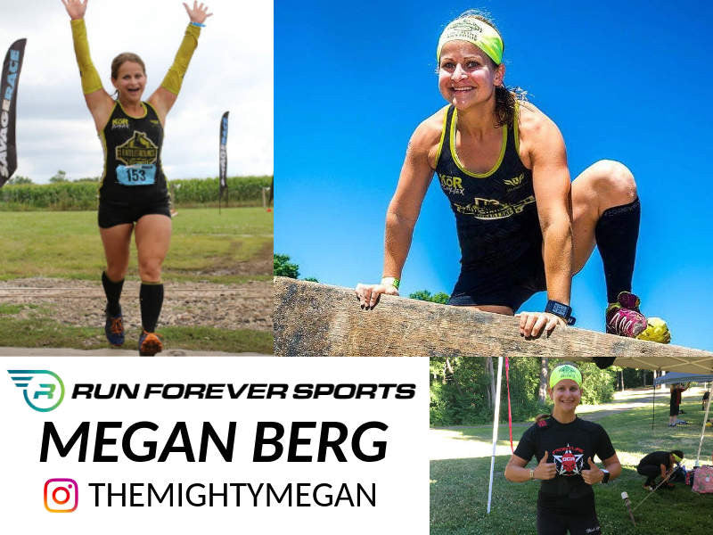 Run Forever Sports Ambassador Megan Berg