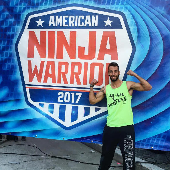 Adam Ribeiro on American Ninja Warrior