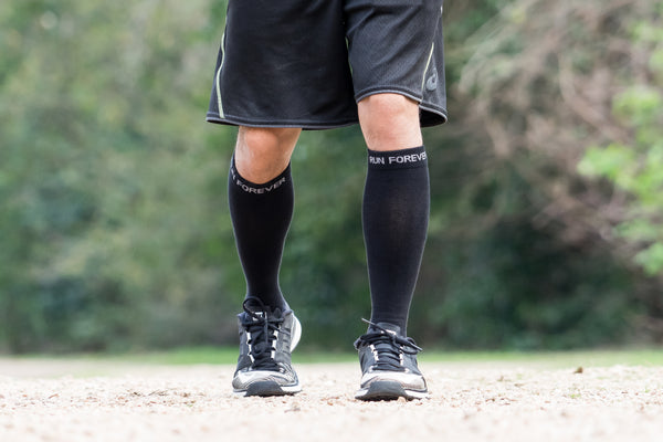 Compression Socks and Sleeves Alleviate Calf Pain