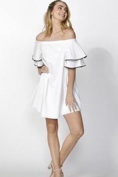 Felicia Ruffle Dress