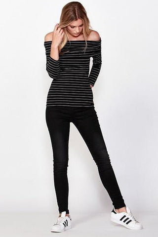 Adele Top Stripe
