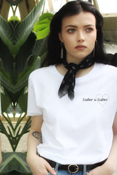 Sister X Sister Charity Tee White