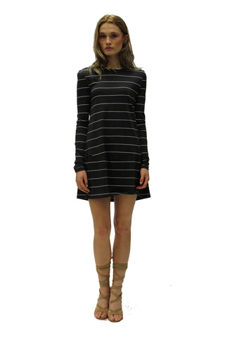 Twist Neck Dress