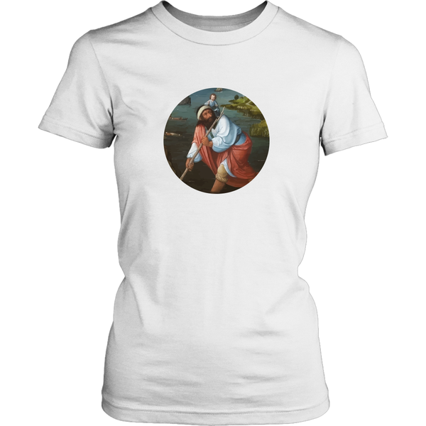 St Christopher Baby Wearing Apparel - Round Design