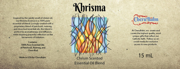 Chrism Scented Essential Oil Blend 15 mL