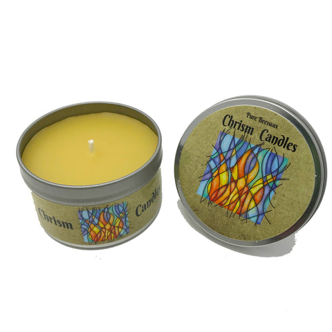Chrism Scented Candles - 6 oz tin