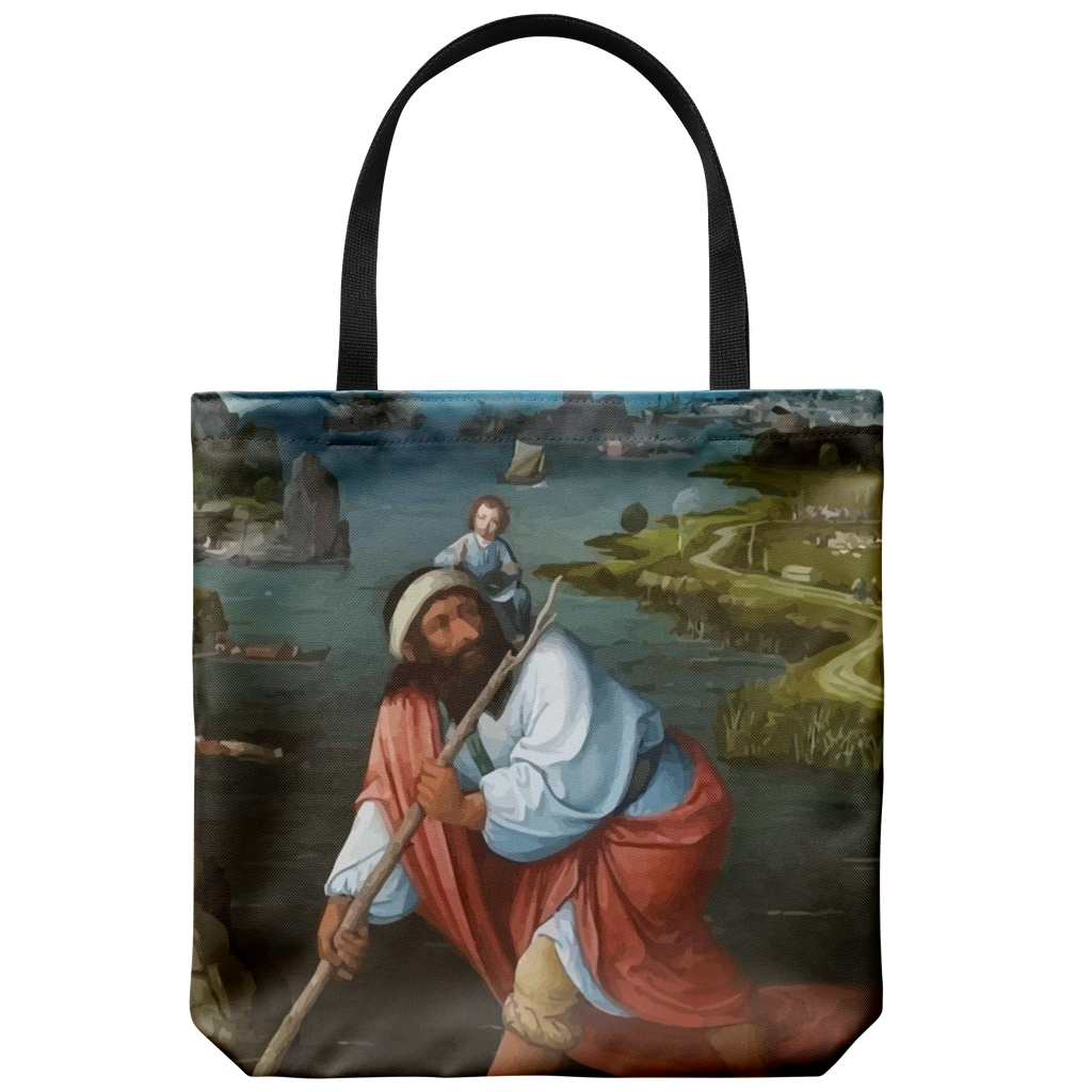 St. Christopher Tote Bag
