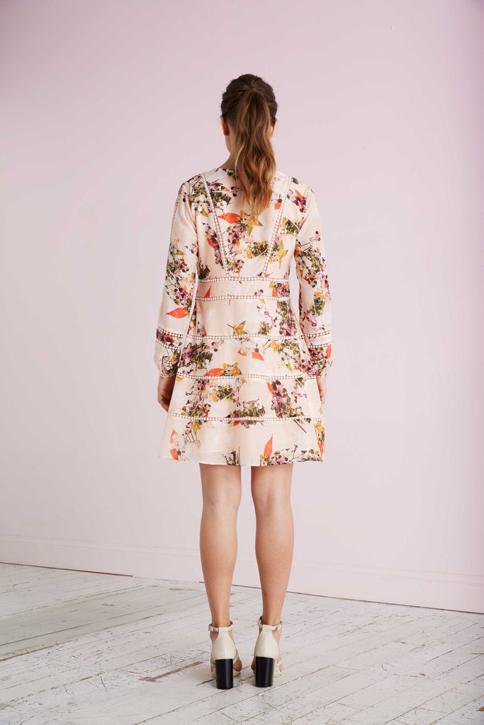 Spring Bloom Print Dress