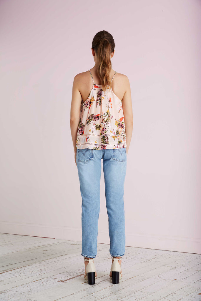 Silk Cami - Spring Bloom Print