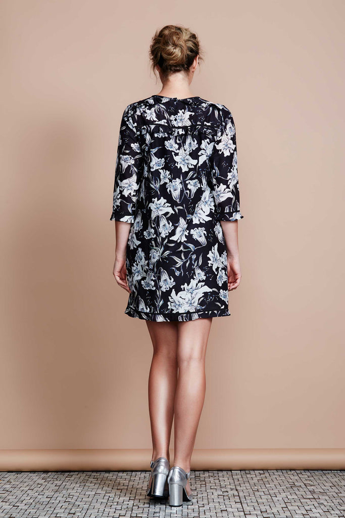 Nocturnal Bloom Dress