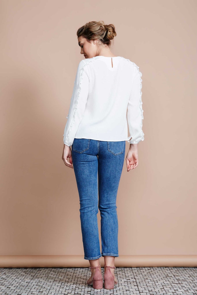 MADE IN MELBOURNE Ruffle Blouse