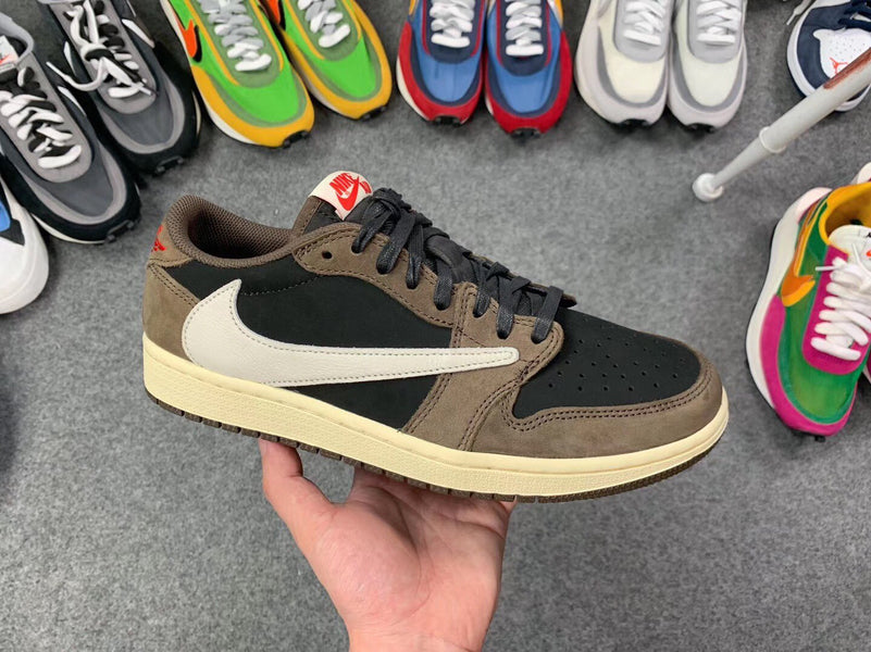 First Look At The Travis Scott X Air Jordan 1 Low