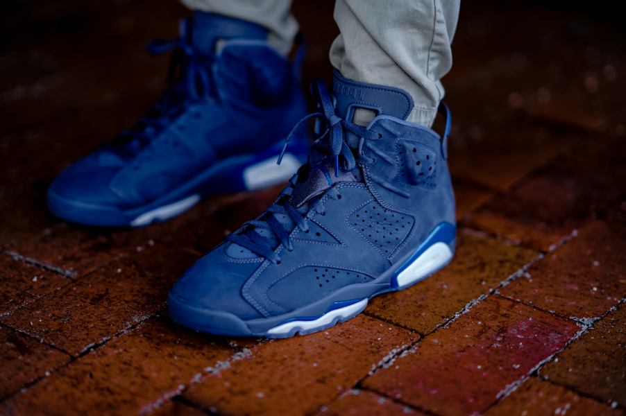 "AIR JORDAN 6 RETRO ""DIFFUSED BLUE"" $135.99 FREE SHIPPING"