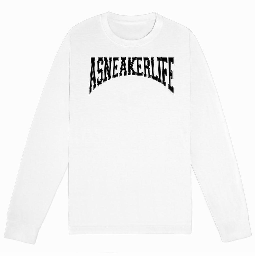Old School A Sneaker Life Long-Sleeve White
