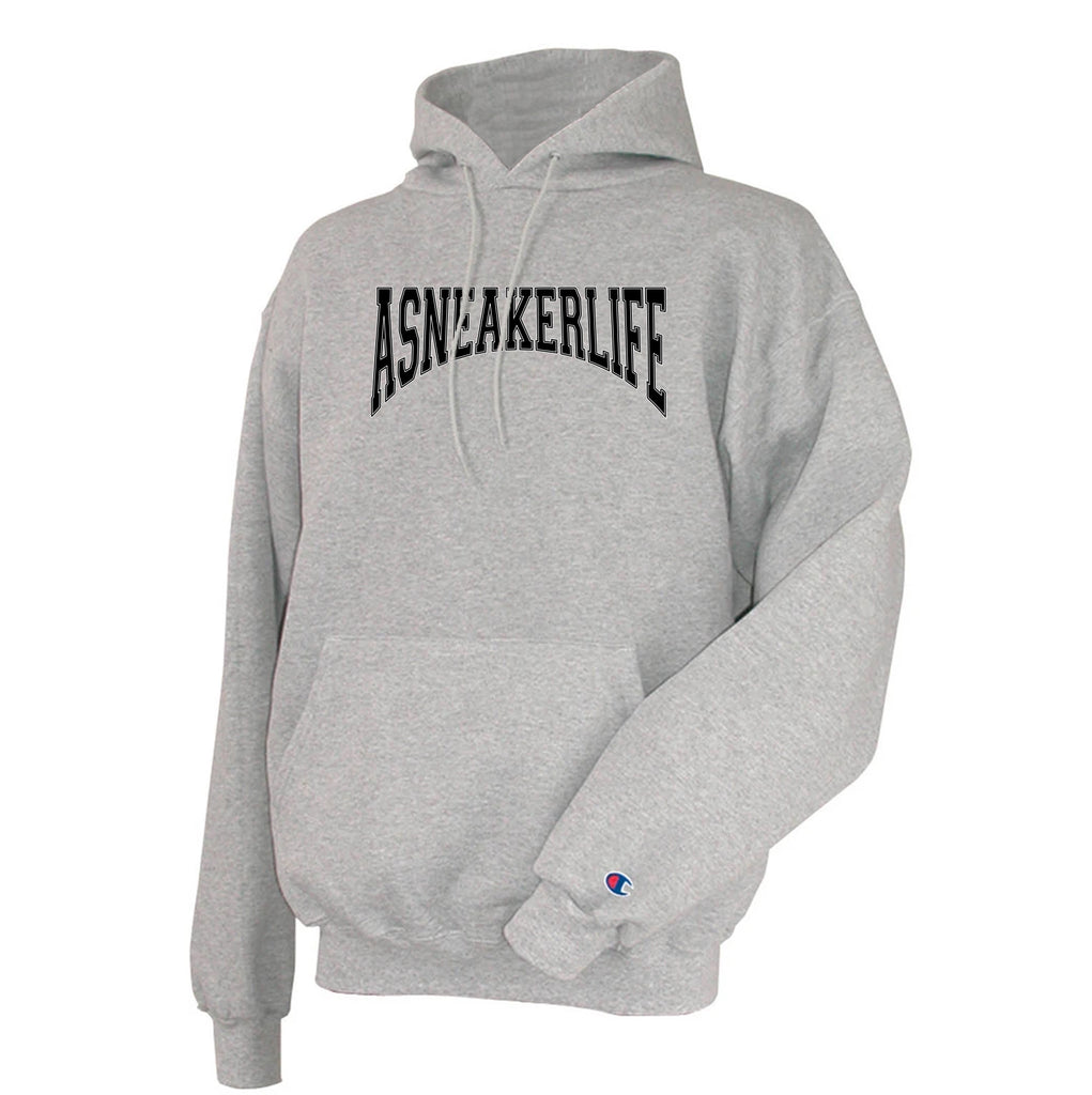 Old School A Sneaker Life Champion Grey Hoodie