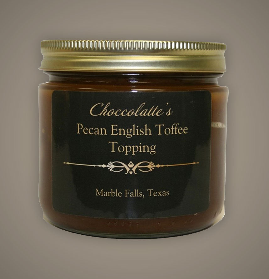 Pecan English Toffee Topping