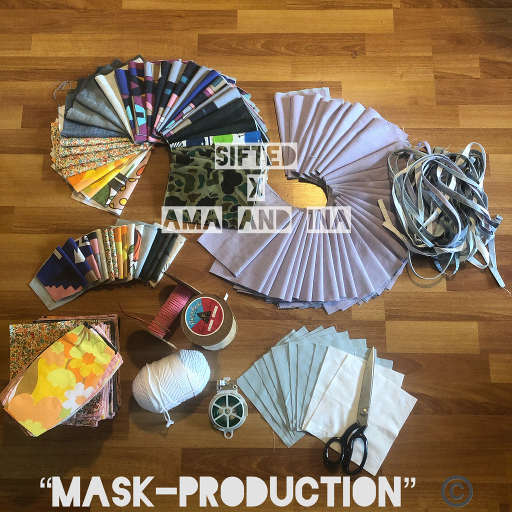 "SIFTED x Ama and Ina ""MASK PRODUCTION"""
