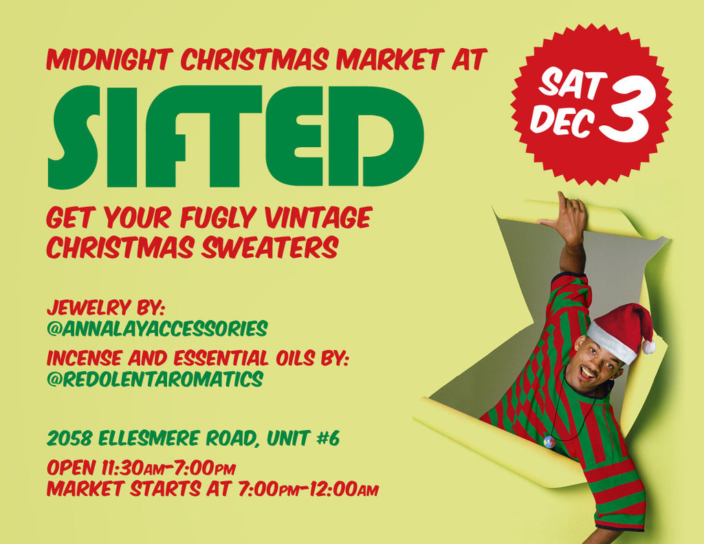 Midnight Christmas Market at Sifted!