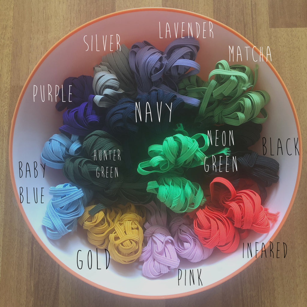 COLOURED ELASTIC FOR FACE MASK PURCHASE