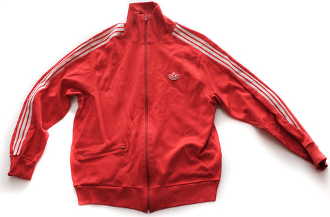 Vintage ADIDAS : Cherry Red Track Top