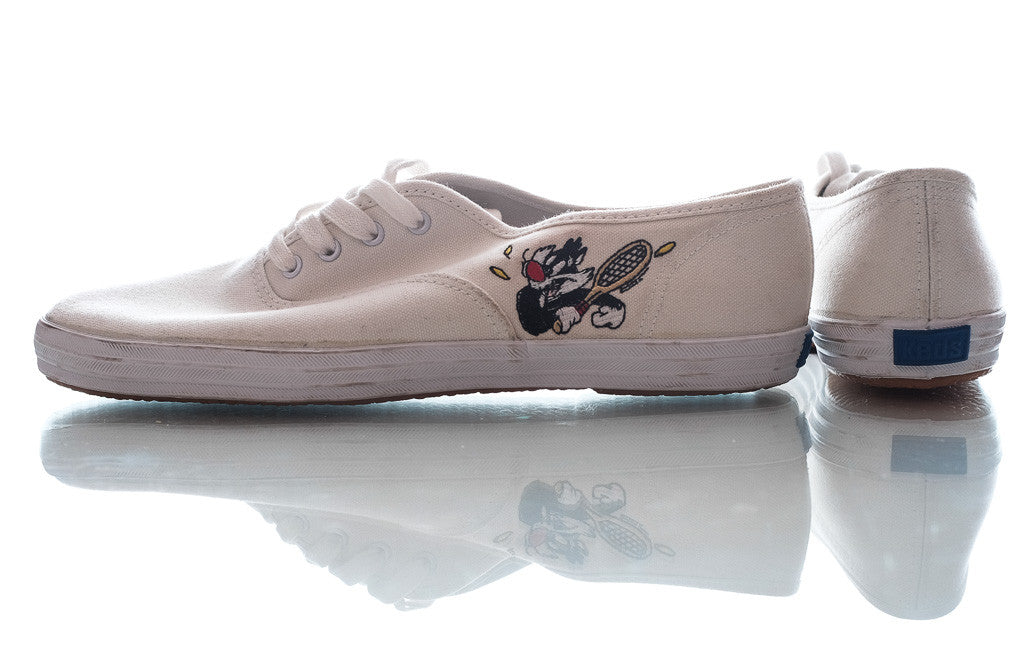 "KEDS x Looney Tunes ""tennis"" shoes"