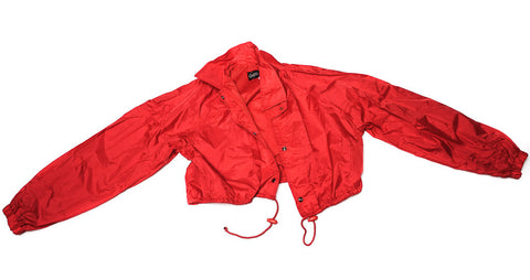 Vintage GUESS : Red Cropped Parka Jacket