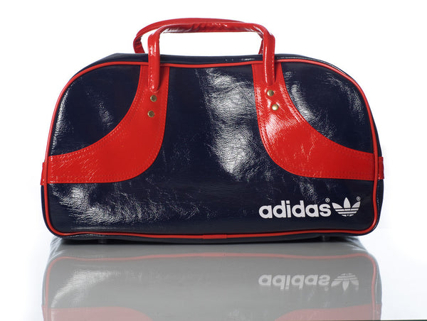 Adidas retro duffle bag - navy