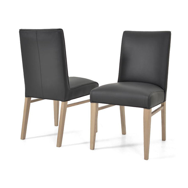 Toorak Australian Made Leather Dining Chair Modern
